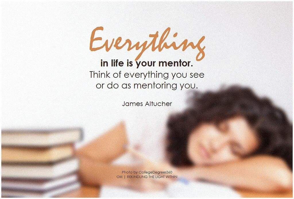 zašto pronaći mentora